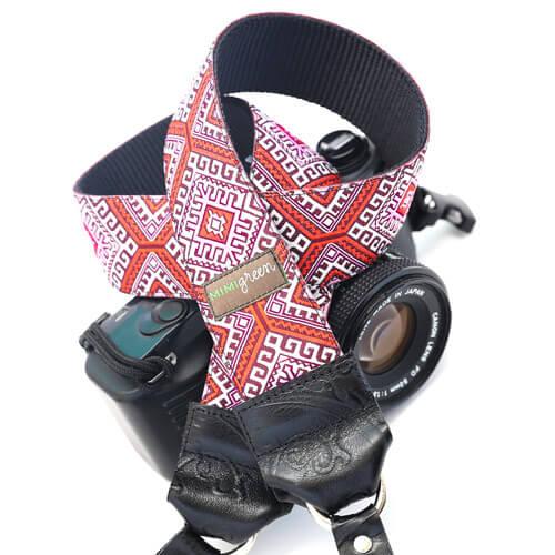 Hapi in Red DSLR Camera Strap